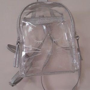 Clear bagpack